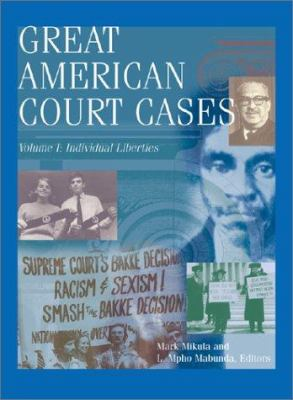 Great American Court Cases 4v 9780787629472