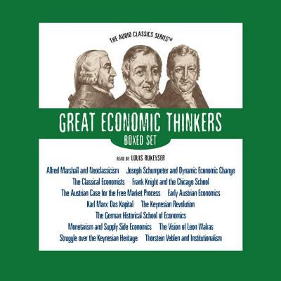 Great Economic Thinkers Boxed Set 9780786158928