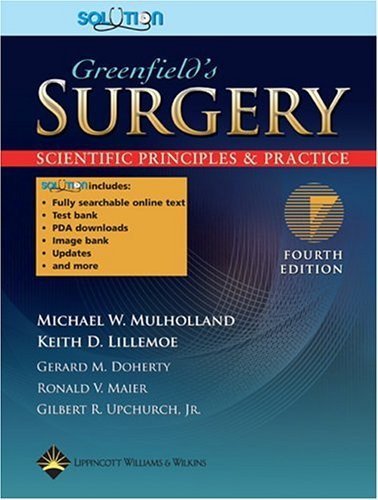 Greenfield's Surgery: Scientific Principles and Practice, Plus Integrated Content Website 9780781756266