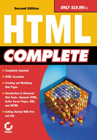 HTML Complete 9780782128017