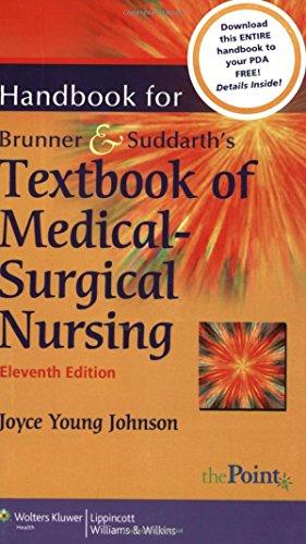 Handbook for Brunner & Suddarth's Textbook of Medical-Surgical Nursing 9780781767491