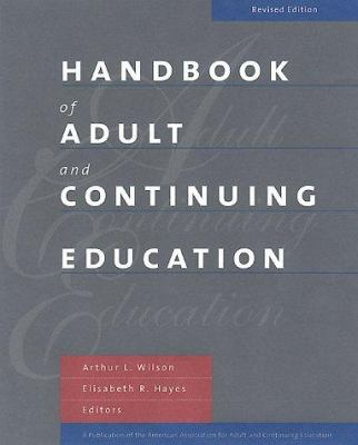 Handbook of Adult and Continuing Education 9780787949983