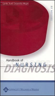 Handbook of Nursing Diagnosis [With Laminated Diagnosis Card] 9780781761307