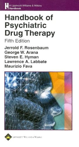 Handbook of Psychiatric Drug Therapy 9780781751889