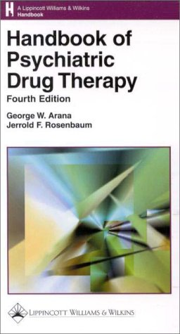 Handbook of Psychiatric Drug Therapy 9780781716093