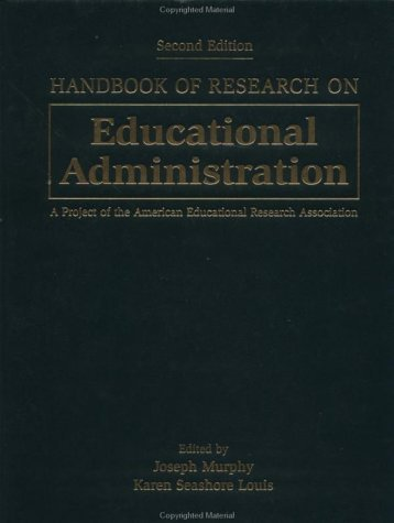 Handbook of Research on Educational Administration 9780787943400
