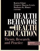 Health Education and Behavior: Theory, Research, and Practice