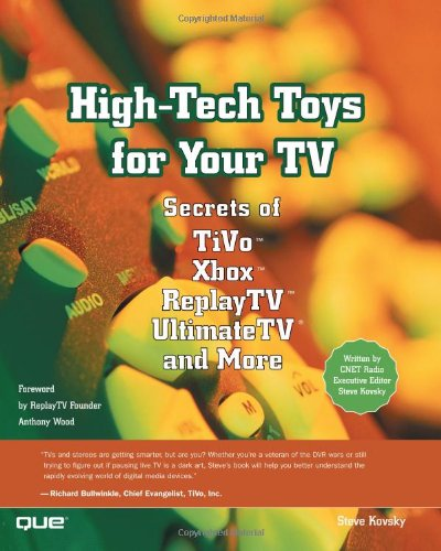 High-Tech Toys for Your TV 9780789726681