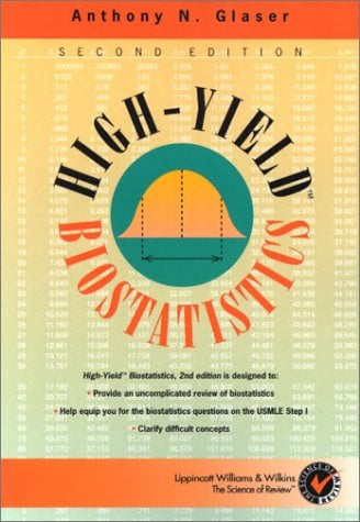 High-Yield(tm) Biostatistics 9780781722421