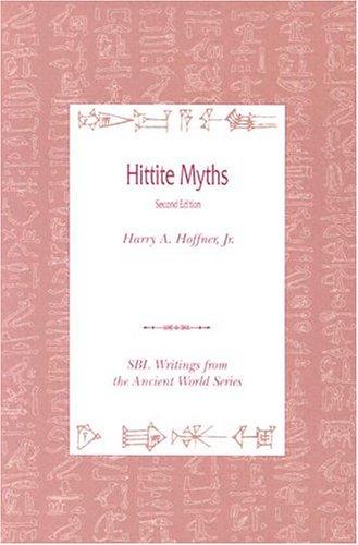 Hittite Myths, Second Edition 9780788504884