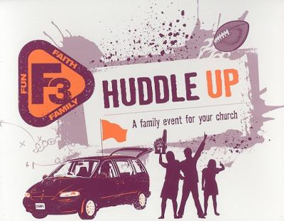Huddle Up: A Family Event for Your Church [With CDROM and Game Cards and Stamp, Place Mat, Name Tag and CD (Audio) and Planning Guide] 9780784723036
