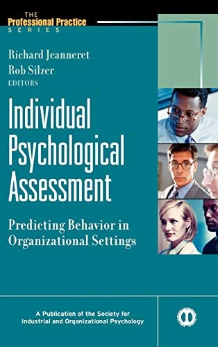 Individual Psychological Assessment: Predicting Behavior in Organizational Settings 9780787908614