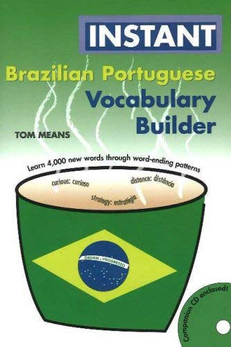 Instant Brazilian Portuguese Vocabulary Builder [With CD] 9780781811385
