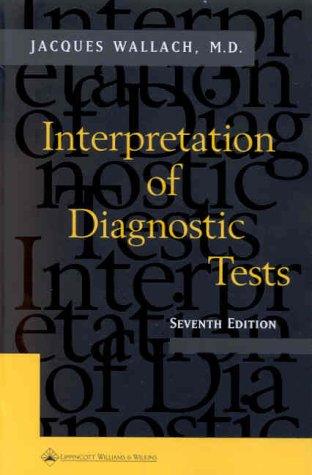 Interpretation of Diagnostic Tests 9780781716598