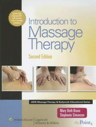 Introduction to Massage Therapy [With DVD] 9780781773744
