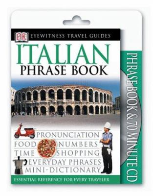 Eyewitness Travel Guides: Italian Phrase Book & CD [With CDROM] 9780789495075