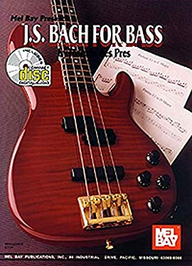 J. S. Bach for Bass [With CD] 9780786628438