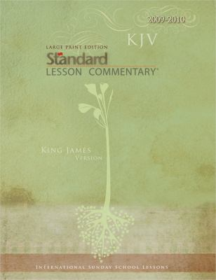 Large Print Edition KJV Standard Lesson Commentary 9780784722589