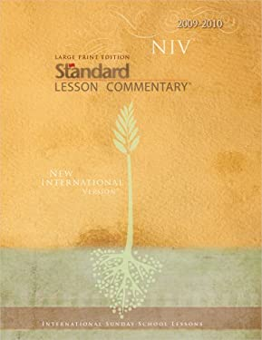 Large Print Edition NIV Standard Lesson Commentary 9780784722596