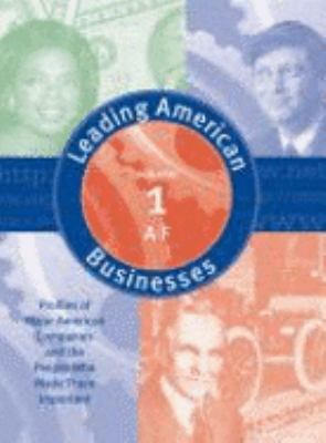 Leading American Business & Industry V1 9780787654290