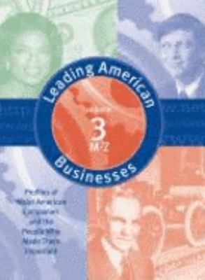 Leading American Business & Industry V3 9780787654313