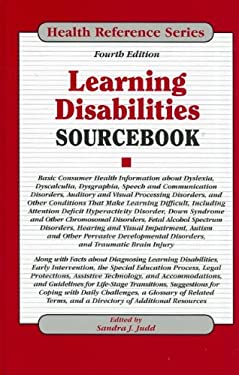 Learning Disabilities Sourcebook 9780780812598