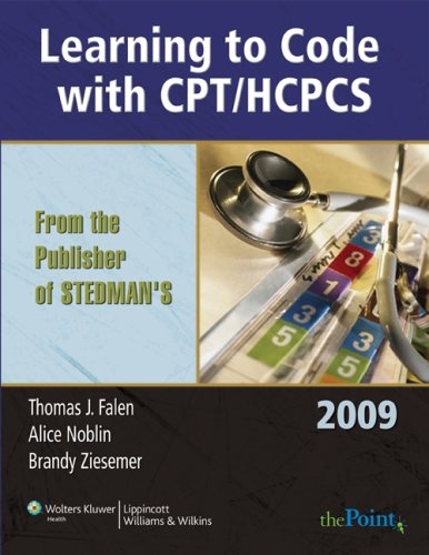 Learning to Code with CPT/HCPCS [With CDROM and Access Code] 9780781781138