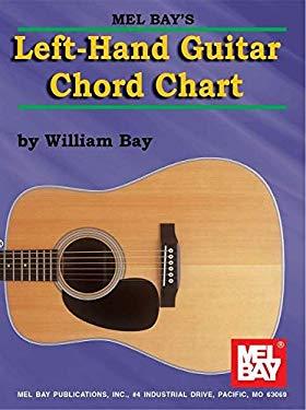 Left-Hand Guitar Chord Chart 9780786605637