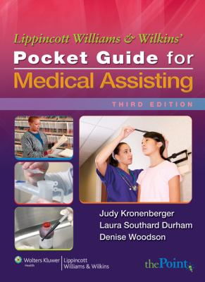 Lippincott Williams & Wilkins' Pocket Guide for Medical Assisting 9780781780537