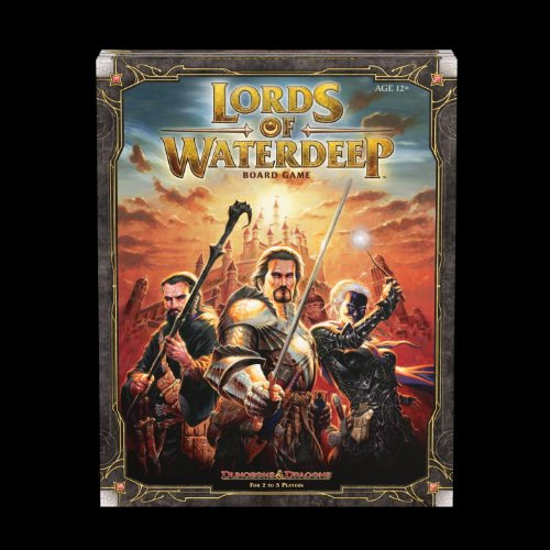 Lords of Waterdeep: A Dungeons & Dragons Board Game 9780786959914