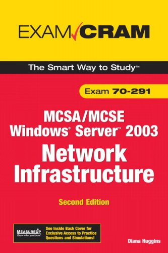 MCSA/MCSE 70-291 Exam Cram: Implementing, Managing, and Maintaining a Microsoft Windows Server 2003 Network Infrastructure 9780789736185