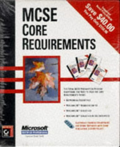 MCSE Core Requirements (4 Volume Set) [With Sample Testing Programs, Computer-Based Training] 9780782120165
