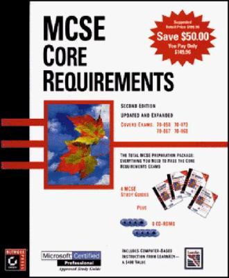 MCSE Core Requirements Boxed Set: Covers Exams: 70-058, 70-067, 70-068, 70-073 [With (3) Contains MCSE Test Simulations, Web Updates...] 9780782122459