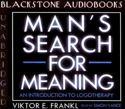 Man's Search for Meaning 9780786191468