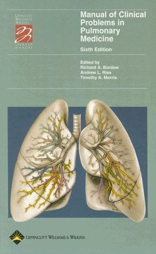 Manual of Clinical Problems in Pulmonary Medicine 9780781752770