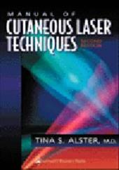 Manual of Cutaneous Laser Techniques 3034348