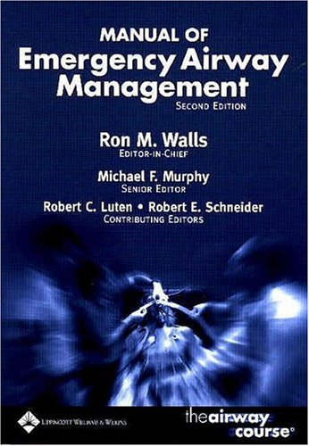 Manual of Emergency Airway Management 9780781747646