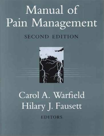 Manual of Pain Management 9780781723138