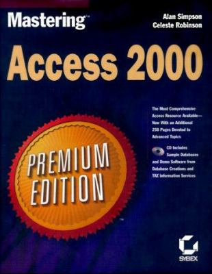 Mastering Access 2000 [With *] 9780782123265