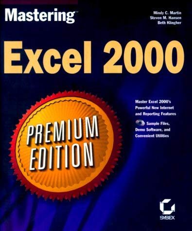 Mastering Excel 2000 [With Contains Tons of Valuable Excel Related Content] 9780782123173
