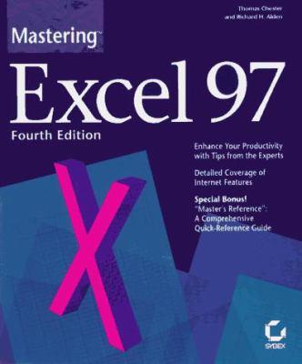 Mastering Excel 97 9780782119213