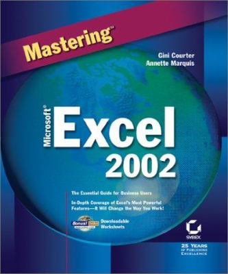 Mastering Microsoft Excel 2002