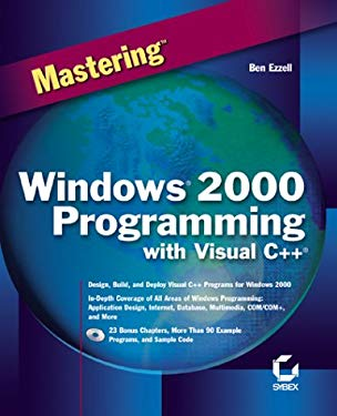 Mastering Windows 2000 Programing with Visual C++ [With CDROM] 9780782126426