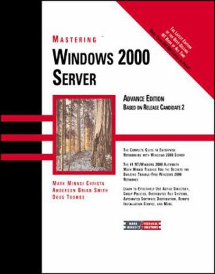 Mastering Windows 2000 Server 9780782124460