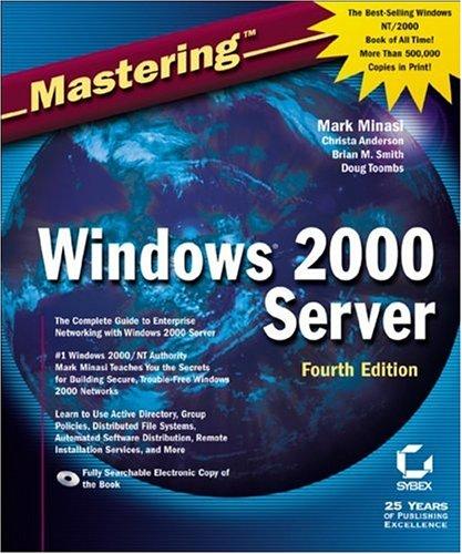 Masteringwindows2000 Server [With CDROM]