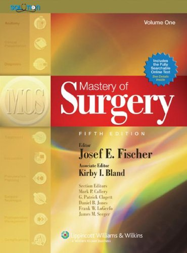 Mastery of Surgery 9780781771658