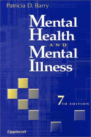Mental Health and Mental Illness 9780781731386
