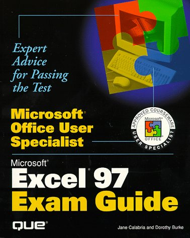 Microsoft Excel Exam Guide [With CDROM Containing Instructor's Resource...] 9780789712912