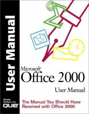 Microsoft Office 2000 User Manual 9780789719300