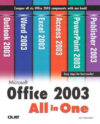 Microsoft Office 2003 All-In-One 9780789729361